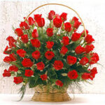 Send rose big basket