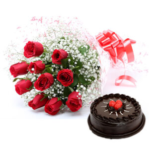 buy cake flowers choclate delivery by cakeindustry.in