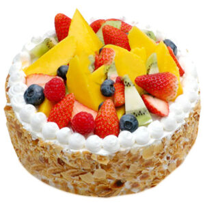 Fresh Fruit cake from 5 star bakers