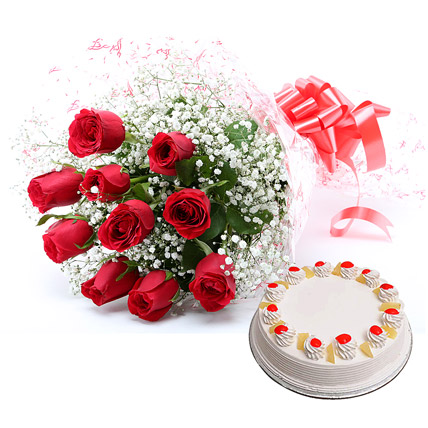 Buy Cake Flowers Choclates Online Delivery By Cakeindustryin