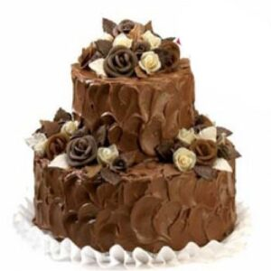 3 Kg Two Tier Chocolate Truffle Cake