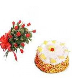 Butter_Stoch_with_6_Red_Rose_delivery