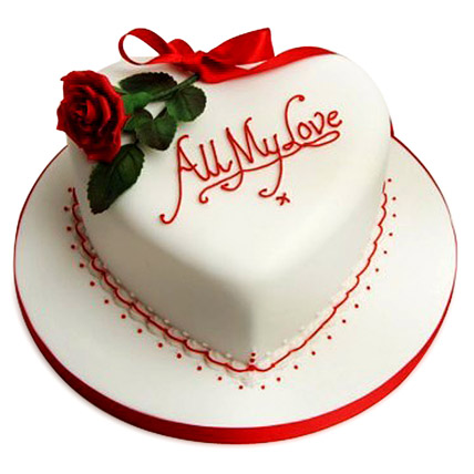 All My Love Heart Shape Cake   Cake Industry Cake Industry