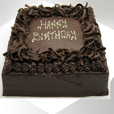 Chocolate Square Cake Cake Industry Cake Industry