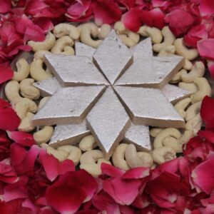 Rakhi, Sweets to Sangrur, Send Sweets to Sangrur, Online delivery of Sweets to Sangrur, Gifts, chocolates, ... 1 KG Kaju Barfi from the best Sweet Shop in town.