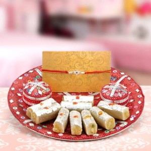 Rakhi, Sweets to Patiala, Send Sweets to Patiala, Online delivery of Sweets to Patiala, Gifts, chocolates, ... 1 KG Mix Kaju Barfi from the best Sweet Shop in town.