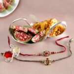 Send Rakhi to Moga, Rakhi to Moga, Cheap Rakhi Gifts to Moga, India, free Rakhi Super delicious Rakhi hamper with Haldiram Assorted sweets,rakhi free delivery on moga
