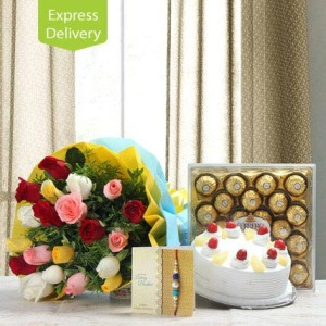 SEND RAKHI AND CAKE TO JALANDHAR ,CAKE INDUSTRY offer 30% RAKHI SALE SAME DAY RAKHI CHOCOLATES ,RAKHI SWEETS in SANGRUR on hampers Chocolates TO JALANDHAR