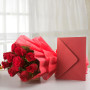 Roses & Greeting Card