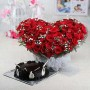 heart-shaped-basket-of-50-red-roses-with-half-kg-round-chocolate-cake