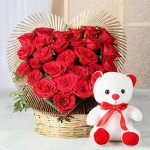 14th February : Day to express your feelings with Flowers. Enjoy ✓100% Satisfaction ✓Free Delivery on award winning Valentine flowers across Moga India @25 % OFF
