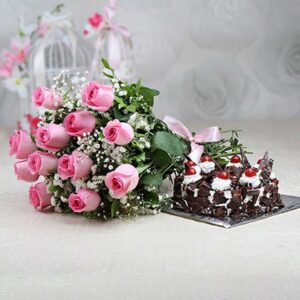 p-half-kg-black-forest-cake-with-a-bunch-of-12-pink-roses-14518-m