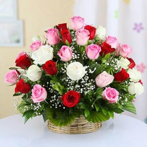 round-handle-basket-of-35-mixed-roses
