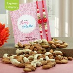 send rakhi and dry fruit to Patiala