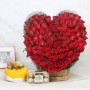 heart-shaped-100-red-roses-bouquet-with-mix-fruit-cake-ferrero-rocher