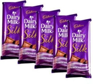 5 pc silk chocolates