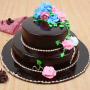 2 layer chocolate cake