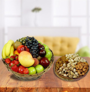 MIX FRUIT WITH DRY FRUIT