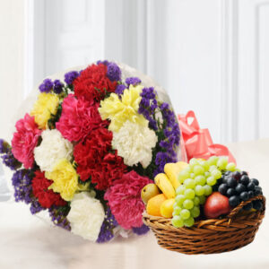 carnation with fruit