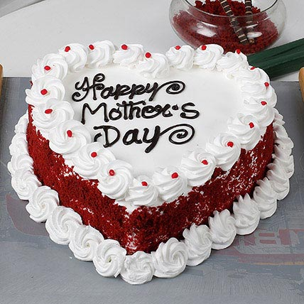 Heart Shaped Mothers Day Cake Cake Industry