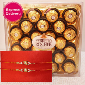 Frerro Rocher with Rakhi