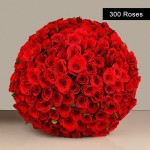 Special red roses bunch for valentines day