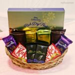 silk kitkat cadbury big basket