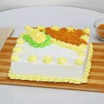 Butter Scotch cake Squre