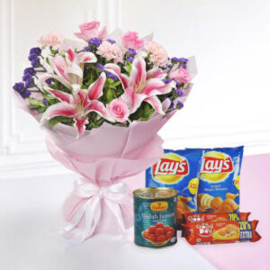 bunch-of-mix-flowers-with-namkeen-biscuits-new-combo