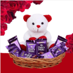 send chocolates with teddy