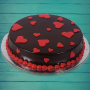 Chocolate love cake with Eggless Delivery in punjab