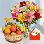 send flowers anf fruit to patiala on mothers day