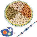 Dry Fruit Tray & rakhi