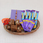 Rakhi Basket for combo