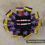 Rakhi chocolates with basket