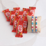 Rakhi with KitKat gift hamper