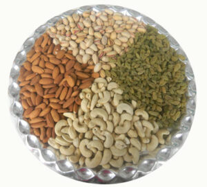 Special Dry fruits Plate
