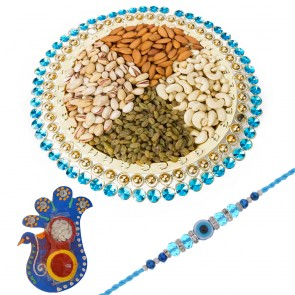 Stones And Beads Dry Fruit Tray