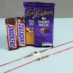 chocolate & rakhi