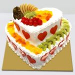 heart-shape-doubel-story-fruit-cake