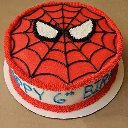 Groovy Send Spiderman Cake Order Birthday Gift Spiderman Mask Birthday Funny Birthday Cards Online Barepcheapnameinfo