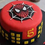 Specal spiderman cake
