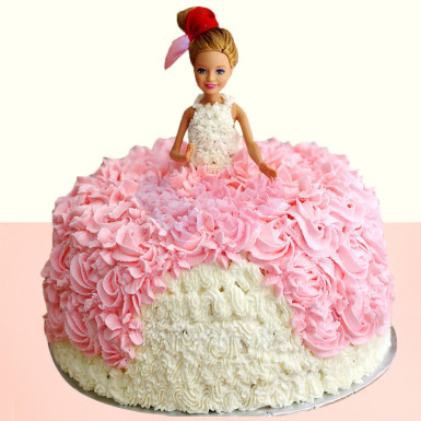 Admirable Barbie Doll Cake Cake Industry Cake Industry Birthday Cards Printable Opercafe Filternl