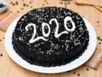 Chocolaty new year cake