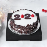 new year 2020 black forest cake 1