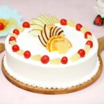 Pineapple fruit cake1