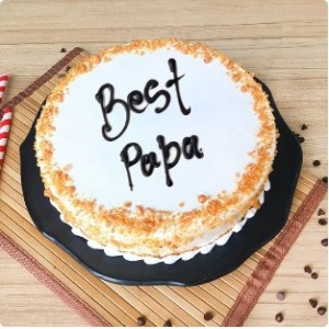 Butter scotch cake for papa