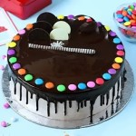 Chocolates gems cake 2