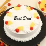 pineapple cake for dad