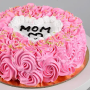 mothers day love chocolate cake